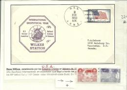 ANTARTIDA - ESTADOS UNIDOS / USA - BASE WILKES . AÑO GEOFISICO INTERNACIONAL - Research Stations