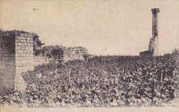 Cp , 37 , ROCHECORBON , Lanterne Et Ruines De L'Ancien Château (XIIe Et XVe S.) - Rochecorbon