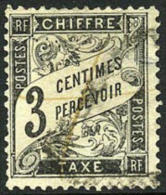 France J13 Used 3c Postage Due Of 1882 - Postage Due