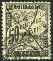 France J21 Used 50c Postage Due Of 1892 - Postage Due