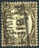 France J65 Used 2fr Postage Due Of 1931 - Postage Due