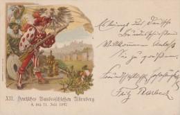 Bayern Privat-GS XII. Dt. Bundesschiessen Nürnberg 1897 Mit SST - Bayern