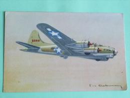 FORTERESSE VOLANTE - BOEING Type B 17 - Avions