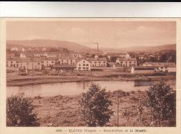 CPA Eloyes, Sous Le Pont Et La Moselle (pk12278) - France