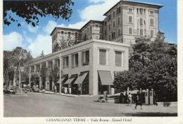 CHIANCIANO TERME (Italie) Cpsm Vue Du Grand Hotel - Non Classés