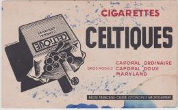 Buvard : Cigarettes CELTIQUES - Tabac & Cigarettes