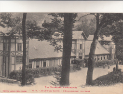 CPA Aulus Les Bains, L'Etablissement Des Bains (pk12294) - France