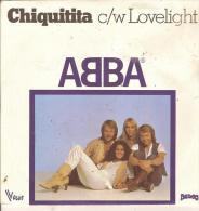 45T. ABBA. Chiquitita C/w Lovelight - Vinyles