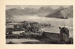 CARTE POSTALE ( Non Circulée) LE LAC D' ANNECY    Talloires Et Chapelle Du Toron 173 µ - Annecy