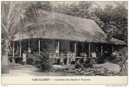 Iles GILBERT-Couvent Des Soeurs à - Tarawa- - Postales