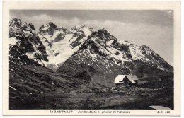CP, 05, LE LAUTARET, Jardin Alpin Et Glacier De L'Homme, Vierge - Sonstige Gemeinden
