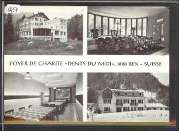 "FORMAT 10x15 - DISTRICT D´AIGLE /// BEX - FOYER DE CHARITE "" DENTS DU MIDI ""  - TB - VD Vaud"