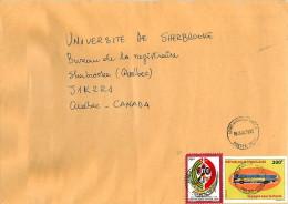 2012 Lettre  Pour Le Canada Coopération Chinoise 500fr, Voyagez Avec La Poste 200fr - Togo (1960-...)