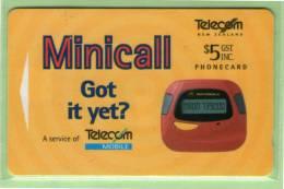 New Zealand - 1995 Telecom Mobile - $5 Minicall - VFU - NZ-P-46 - Nuova Zelanda