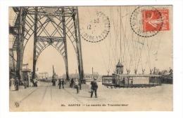 LOIRE-INFERIEURE  /  NANTES  /  LA  NACELLE  DU  PONT  TRANSBORDEUR  ( Jamais Vu Sous Cet Angle ! ) /  Edit.  KD  N° 34 - Nantes