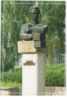 Moldova 2012 Mihai Eminescu Monument In Ungheni - Moldova