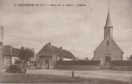 28)    MAINTERNE -  Place De La Mairie  - L'Eglise - Autres Communes