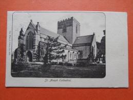 27386 PC: WALES: FLINTSHIRE: St. Asaph Cathedral. (Postmark 1908). - Flintshire