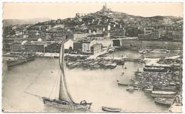 13 - Marseille - Bassin De Carénage Et N.-D. De La Garde - Carenage's Dock... (non Circulée) - Joliette, Port Area