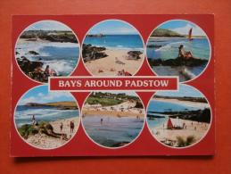 27403 PC : CORNWALL: Bays Around Padstow. (Postmark 1990). - Inglaterra