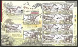 O) 2010 KOREA, THE AGE OF DINOSAURS, 1ST, MNH. - Korea (...-1945)