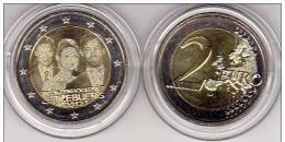 4.- 001 LUXEMBURG 2012 2 EURO COIN UNCIRCULATED. - Luxemburgo