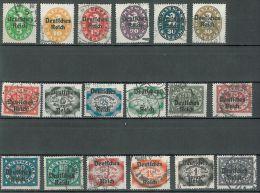 GERMANY - 1920 OVERPRINTS ON BAVARIA STAMPS - Beieren