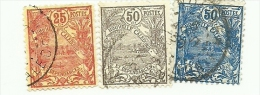 117,120ET121  RADE DE NOUMEA    (121) - Used Stamps