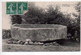 REF 136 : CPA 87 BESSINES La Pierre Belle 1911 - Bessines Sur Gartempe