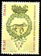PIA - ITALIA - 2003 : 400° Della Fondazione Dell´ Accademia Dei Lincei    - (SAS  2678) - 6. 1946-.. República