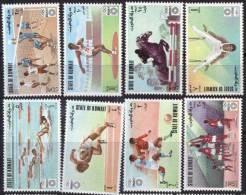 KUWAIT -  OLYMPIC MINCHEN - FOOTBALL - BASKET - HORSE - SWIMING -  GYMNASTIC  - MNH ** - 1972 - Pallacanestro