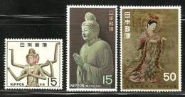JAPAN..1968..Michel # 987-989...MLH. - 1926-89 Empereur Hirohito (Ere Showa)