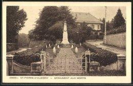 CPA St-Pierre-d'Albigny, Monument Aux Morts - Saint Pierre D'Albigny