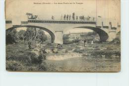 GABIAN  - Les Deux Ponts Sur La Tougne. - Unclassified