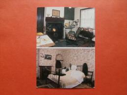27429 PC : NOTTS: Kitchen & Bedroom In D. H. Lawrence Birthplace Museum, Nottingham. (Postmark 1996). - Nottingham