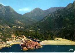 20 Corse  -  PORTO  - Panorama - Cachet OTA Au Dos 1979 - Francia