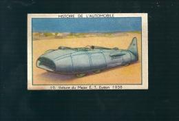 Q670 - CHROMO WERKENDE BIE - MAJOR GEORGE  E T EYSTON 1938 THUNDERBOLT - Cars