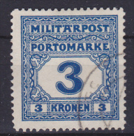 OOSTENRIJK - Michel - 1916 - Nr 26 (Portomarken-Militair)- Gest/Obl/Us - Levant Autrichien