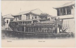 19202g CANTON - Flower Boat - Chine