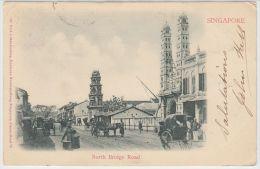 19167g SINGAPOUR - North Bridge Road - 1903 - Singapour
