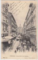 19166g ZARAGOZA - Calle De D. Alfonso 1 - 1906 - Zaragoza