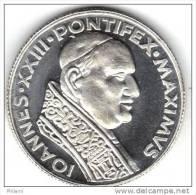 MEDAILLE, RELIGION, IOANES XXIII PONTIFEX MAXIMUS, Argent (14gr). (AUM16) - Altri