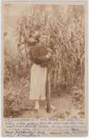 19163g ORAN - Guerrier - 1903 - Carte Photo - Oran