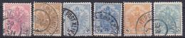 OOSTENRIJK - Michel - 1901 - Nr 24/28 + A/b (Bosnië-Herzegovina) - Gest/Obl/Us - Levant Autrichien