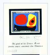 ROMANIA - 1970  Flood Victims Miniature Sheet Unmounted Mint - 1948-.... Repúblicas