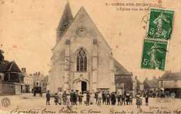 DPT 61 CONDE-SUR-HUISNE L'Eglise Vue De Face - Autres Communes