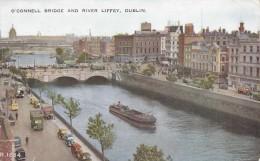 C1900 DUBLIN - O'CONNELL BRIDGE AND RIVER LIFFEY - Dublin