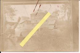 Ribemont Aisne Moulin Promenade Sur L'eau Env 1900 - Photographs