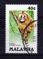 Malaysia - 1985 - 40 Cents Slow Loris - Used - Malaysia (1964-...)