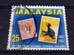 Malaysia - 1962 - 25 Cents Stamp Centenary - Used - Malaysia (1964-...)